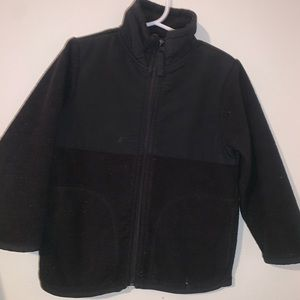 4T Children's Place Black Jacket